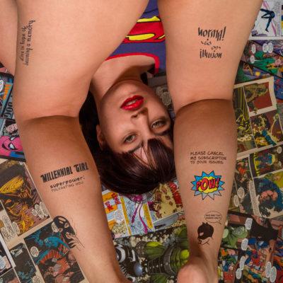 Millennial Girl (Ambigram Joanna Vu)